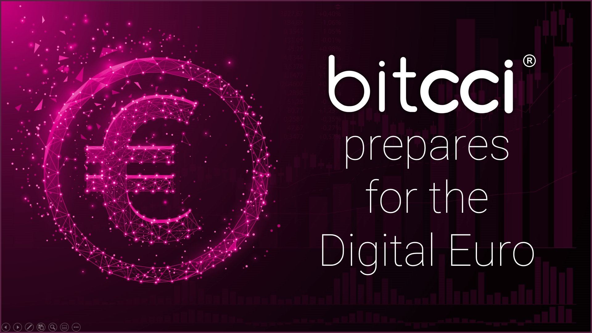 Great for bitcci ! A digital EURO for the digital era.